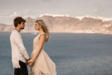 Destination Santorini elopement